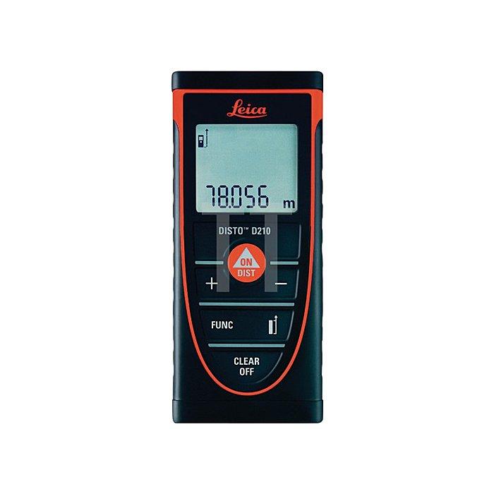 Laser-Entfernungsmesser DISTO D210 Genauigk.1,0mm Laserklasse 2 m.Batterien