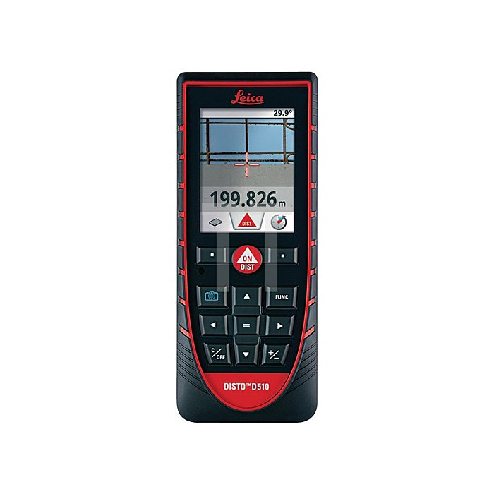 Laser-Entfernungsmesser DISTO D510 Genauigk.1,0mm Laserklasse 2 m.Batterien