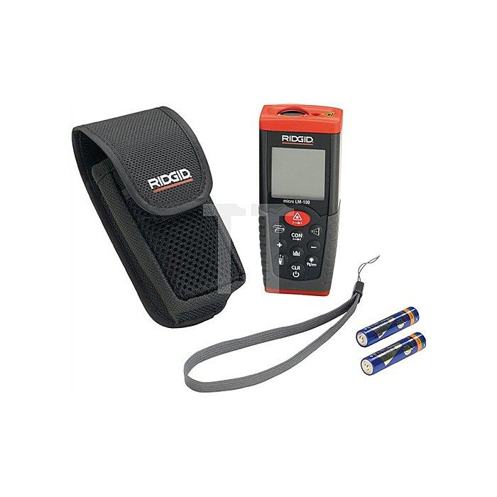 Laser-Entfernungsmessgerät bis 50 m Fläche Volumen Addition Substraktion Tasche