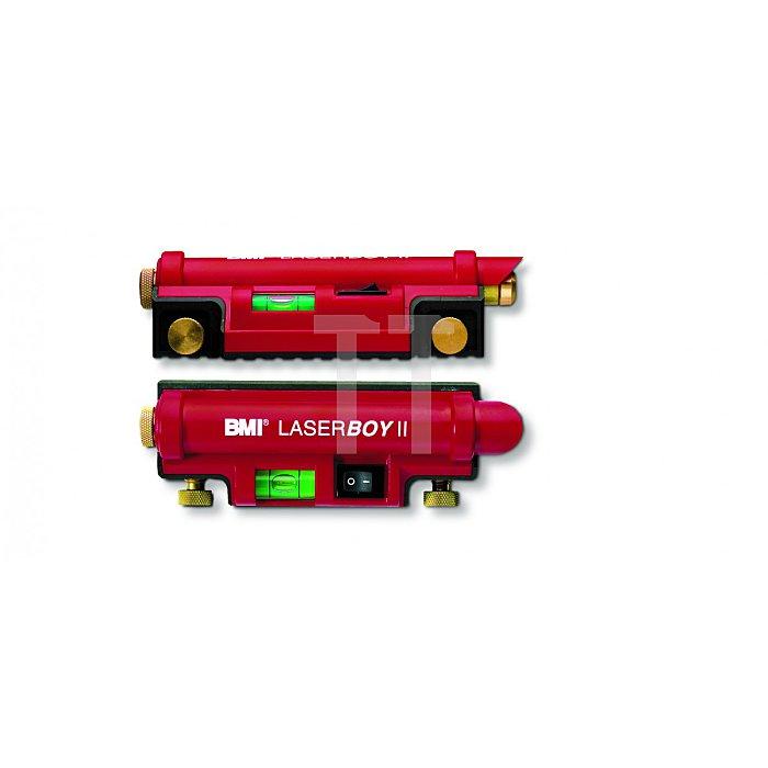 BMI Laserwasserwaage Laserboy 2, handlicher Austecklaser 649015