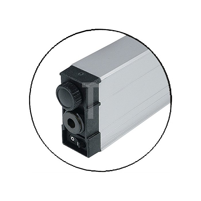 Laserwasserwaage Alu. L.60cm b.D.200m 0,25/0,15mm/m genau SOLA Laser-Kl.II