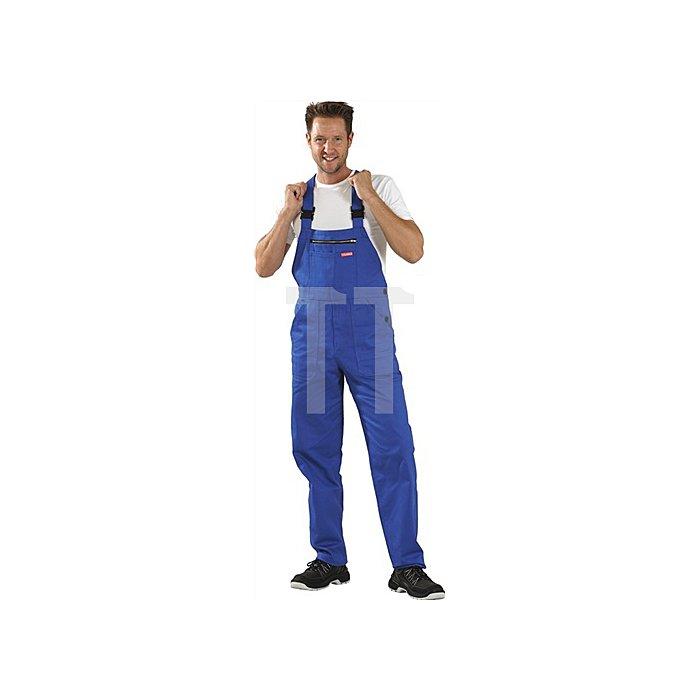 Latzhose BW290 Gr. 60 kornblau 100 % BW