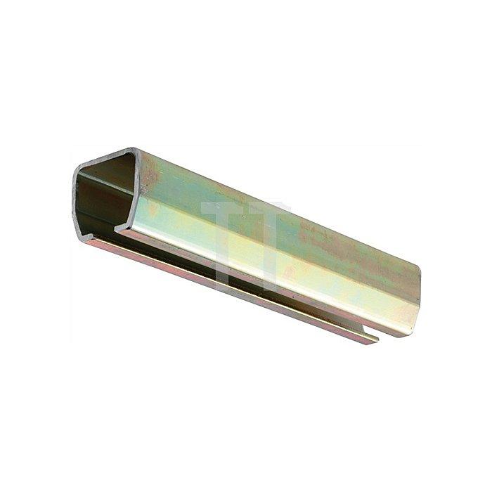 Laufschiene 100 Höhe 28mm Breite 30mm Stärke 1,8mm Lagerlänge: 6m