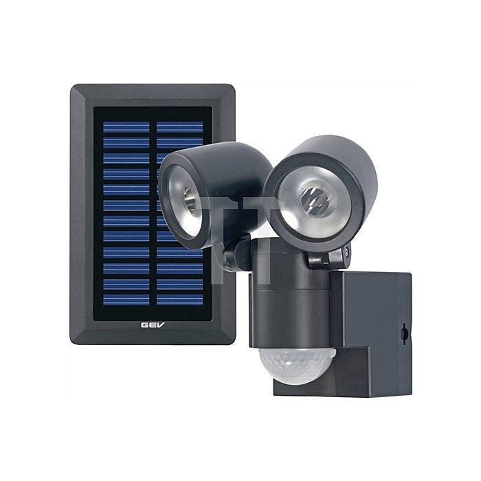 LED-Leuchte LPL 858/130Grad Solar B112xH144xT70mm schwarz