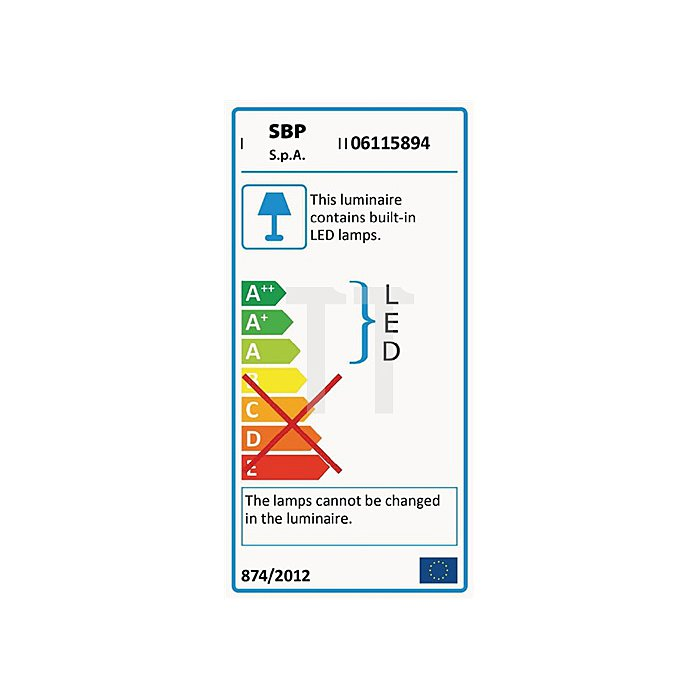 LED Strahler 15W m.1LED 983Lm 5m H07RN-F 3G 1,5 5000 Kelvin asymetr. IP 44+66