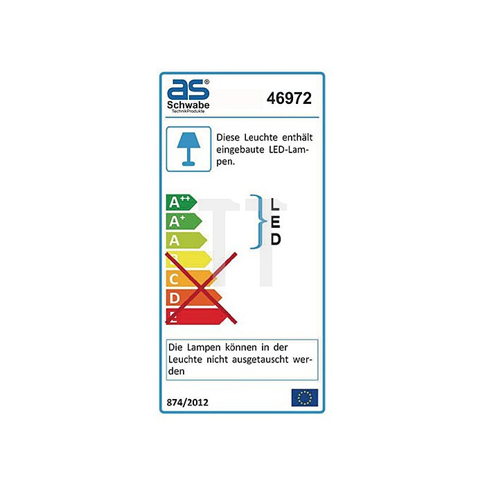 LED Strahler m.Akku 20W SMD LED 8A Lithium Batterie ca.1300Lm IP65
