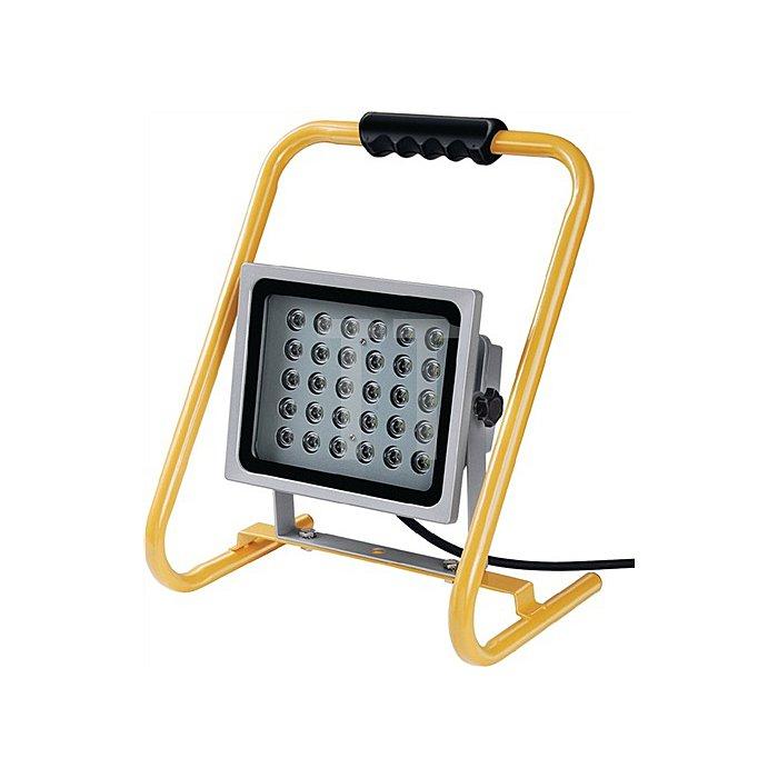 LED-Strahler mobil mit Ständer 30x1,0W ca. 2400Lm 5 m Kabel IP65