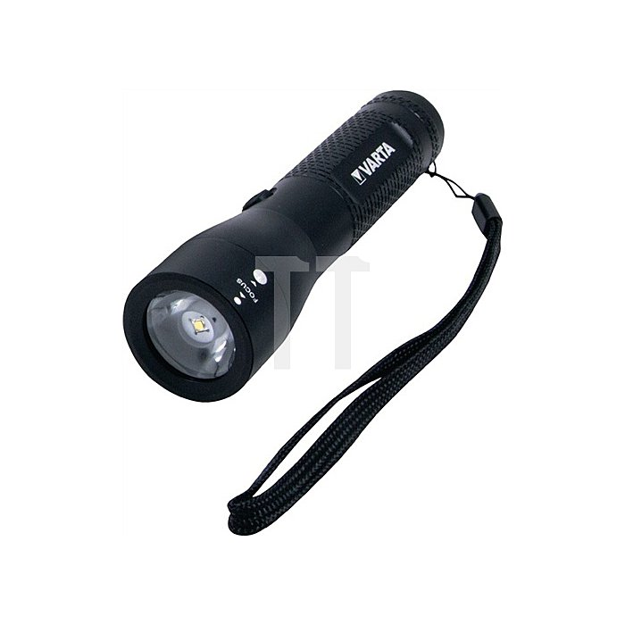LED Taschenlampe 3W CREE 3AAA Batt. 200Lm Leuchtw. 141m Laufz. 26h IPX4 Blister