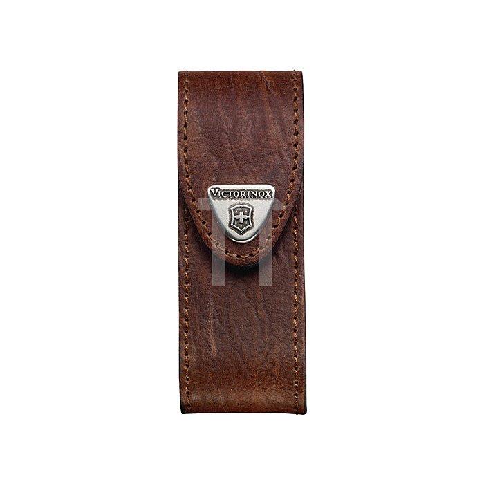 Ledergürteltasche braun passend zu 4000817854 Victorinox