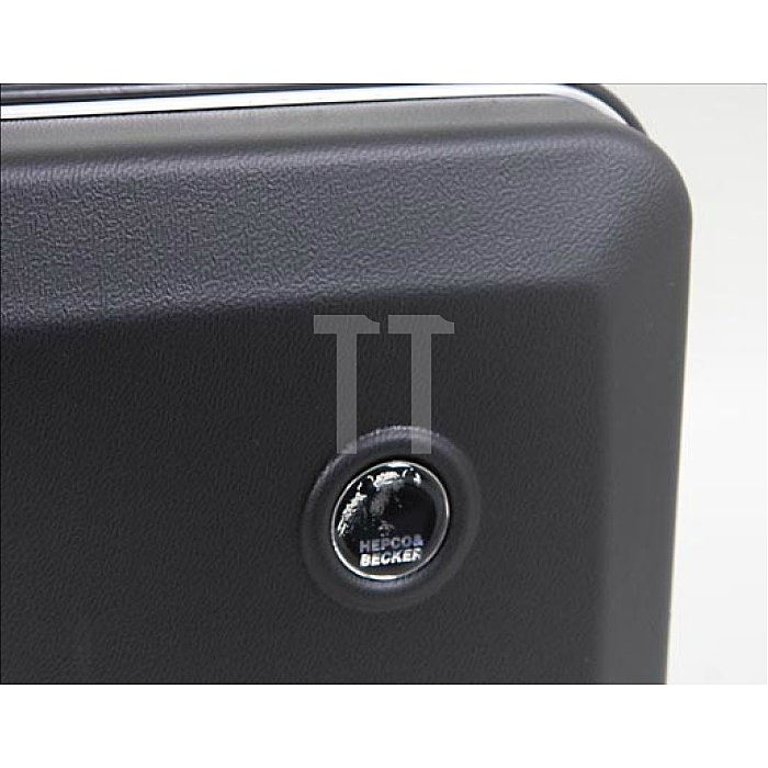 Leerkoffer - Werkzeug- Schalenkoffer ABS-pro Classic schwarz 460 x 140 x 310mm