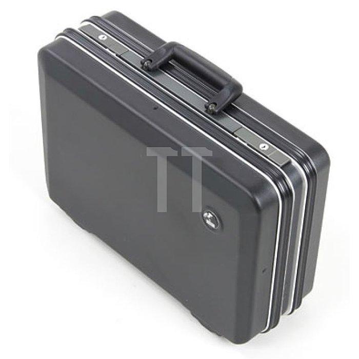 Leerkoffer - Werkzeug- Schalenkoffer ABS-pro Classic schwarz 460 x 180 x 310mm