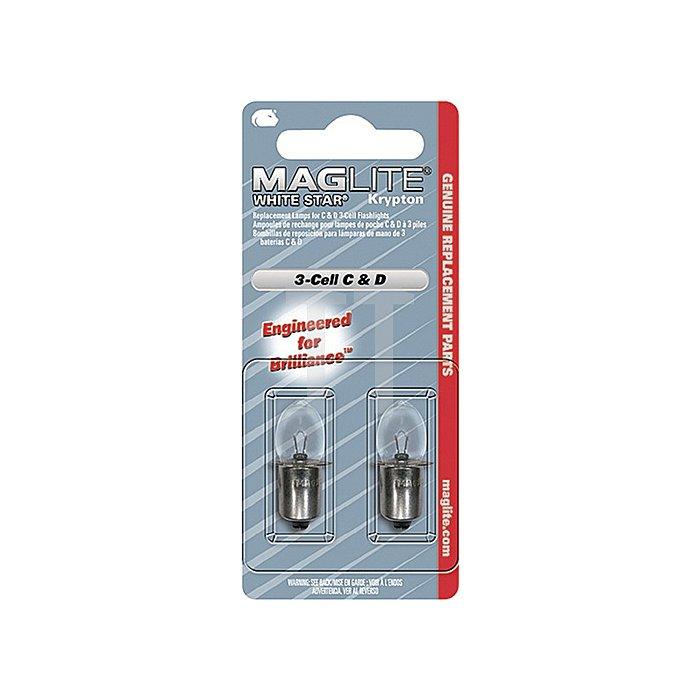 Leuchtmittel C+D-Cell f. 2 Batterien Xenon Ausführung Mag-Lite 1St./Blister