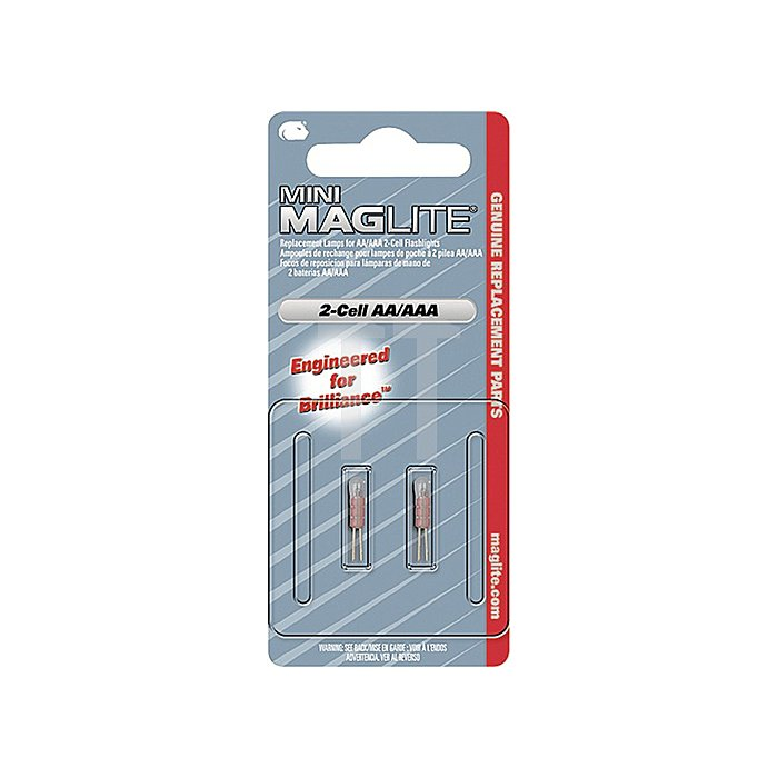 Leuchtmittel f.Mini AA+AAA 2St./Blister MAG-LITE LM2A001