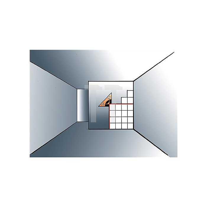 Linienlaser Square Liner II Arbeitsbereich max.30m Laserdioden 2x635mm G.0,40kg