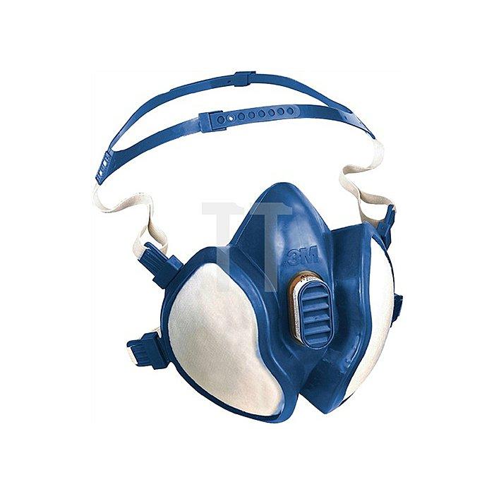 Lösemittelmaske 4279 FFABEKP3RD 4-Pkt Kopfbebänderung 3M EN405:2001+A1:2009