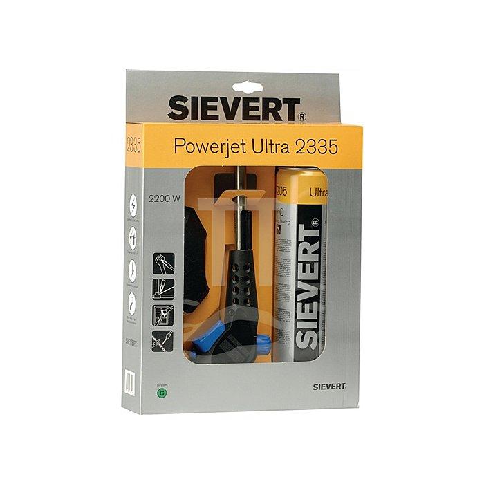 Lötlampe Powerjet 2335 inkl. Zykonbrenner 8706