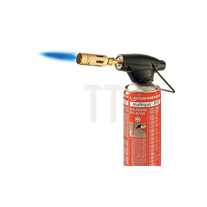 Lötlampe Rofire Kartuschen-Lötgerät Multigas300 z. Hartlöten u.Weichlöten