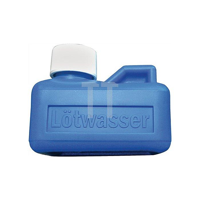 Lötwasserbehälter f. 125 ml Bodengröße 75x55 mm blau