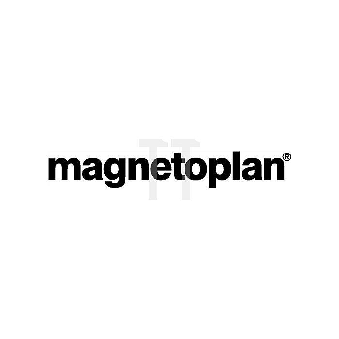 Magnetblock gelb B.54xT.19xH.8mm Haftkraft 1,3kg