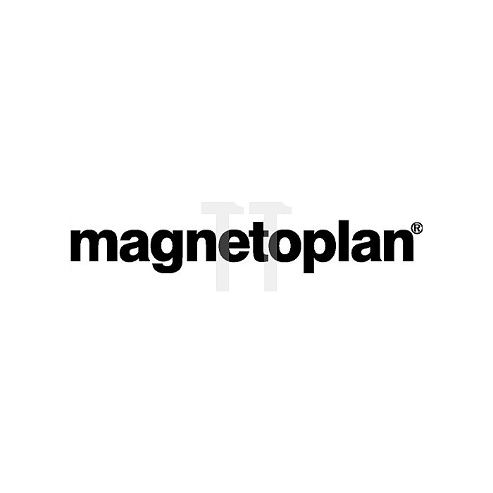 Magnetblock rot B.54xT.19xH.8mm Haftkraft 1,3kg