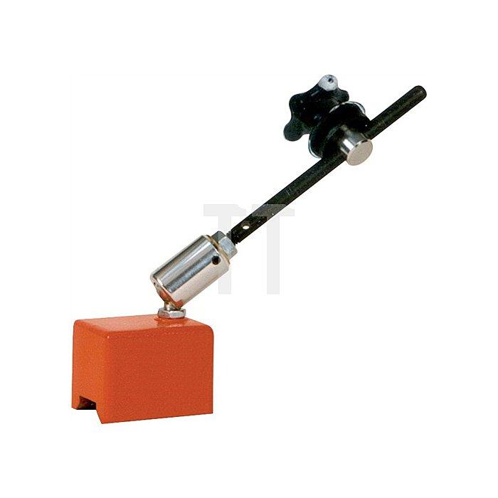 Magnetfuß L.60xB.45xH.45mm f.Späneschutzschild Stangen-L.190mm