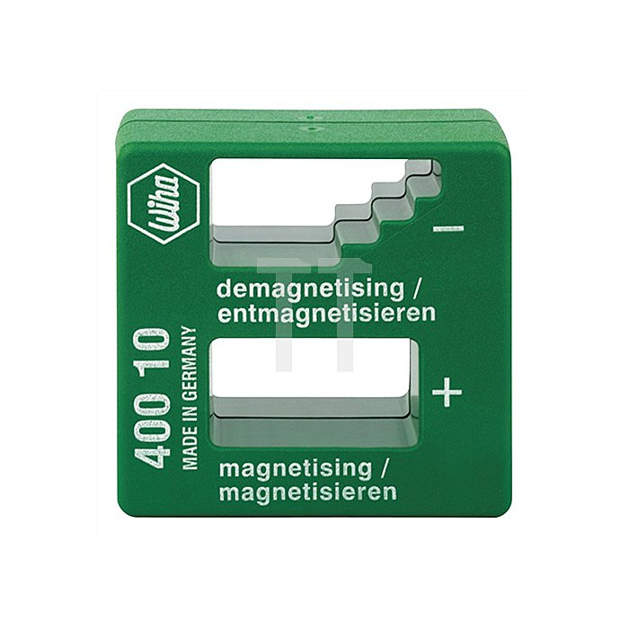 Magnetisiergerät B.52xH.50xT.29mm z.Magnetisieren/Entmagnetisieren Ku.-Gehäuse