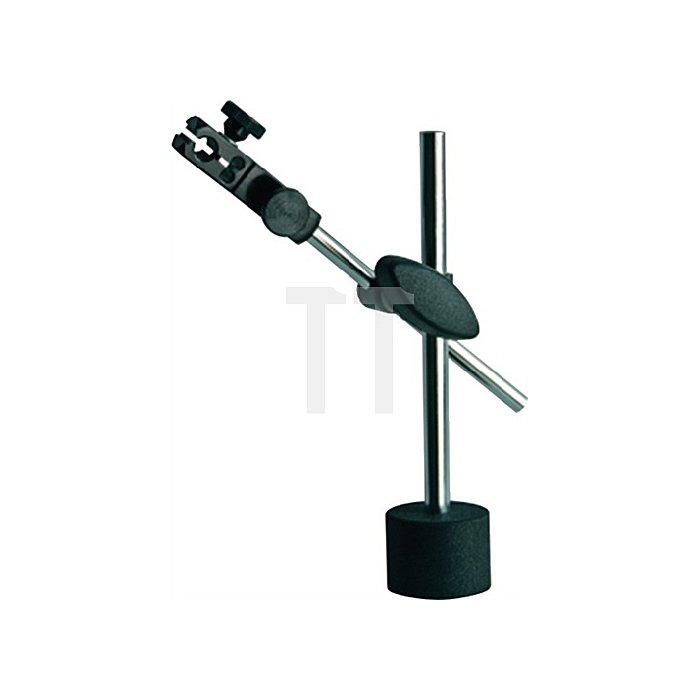 Magnetmessstativ Gesamt-H.190mm Zentralklemmung Aktionsradius 130mm