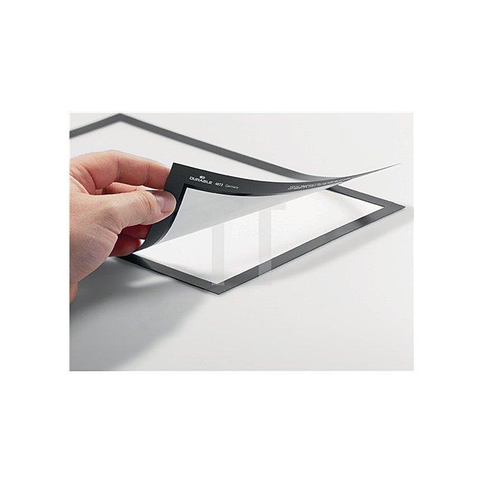 Magnetrahmen DIN A4 schwarz selbstklebende Rückenfolie 2 St./VE
