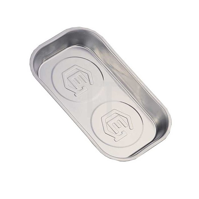 Magnetschale Schale rechteckig aus Edelstahl 1tlg.