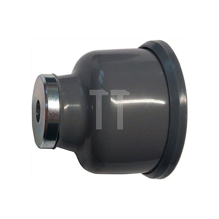 Magnettürfeststeller 011/573/1 Höhe 54mm Breite 54mm PVC-Körper braun