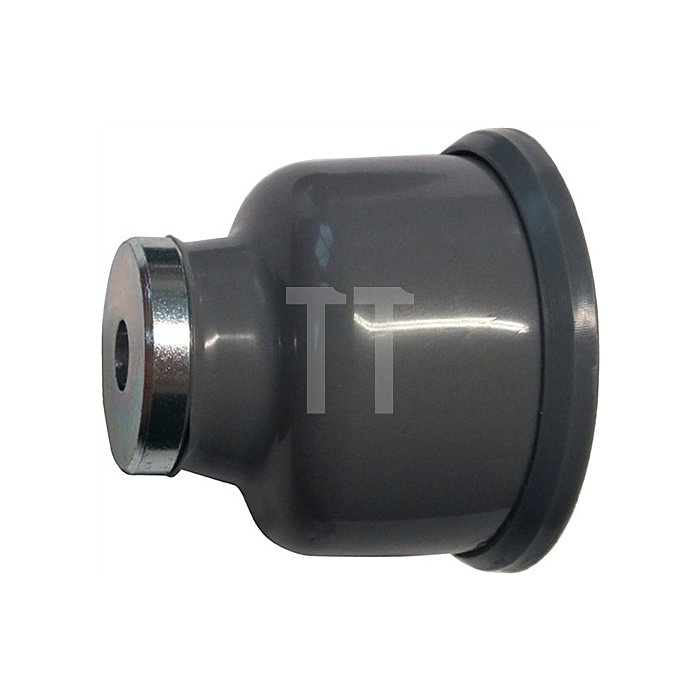 Magnettürfeststeller 011/573/2 Höhe 54mm Breite 54mm PVC-Körper grau