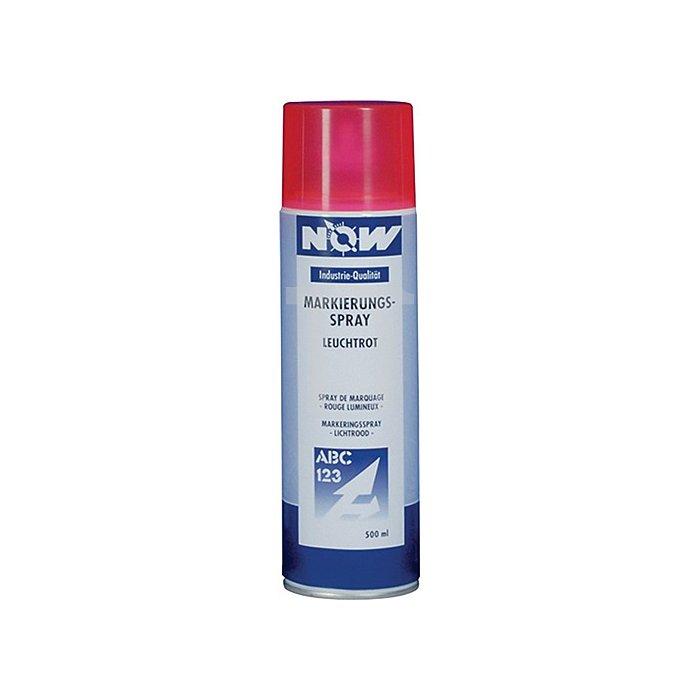 Markierungsspray 500ml neonrot NOW wetterbeständig