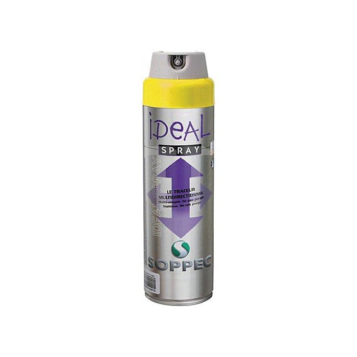 Markierungsspray Ideal 500ml Leuchgelb für alle Untergründe