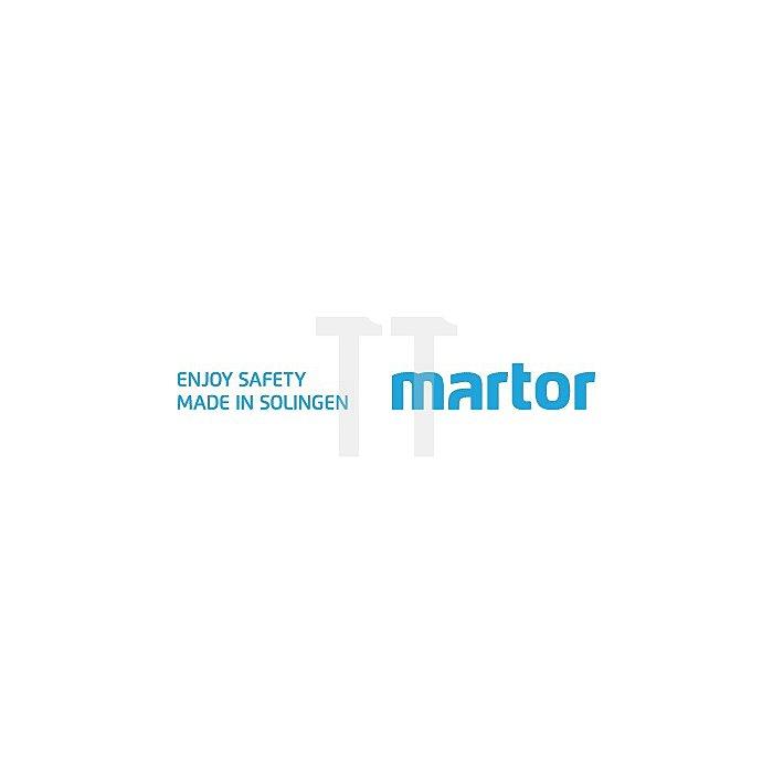 Martego Klinge Maße ca. 26 x 18,5mm Stärke ca. 0,4mm 10 Stück/Spender Martor