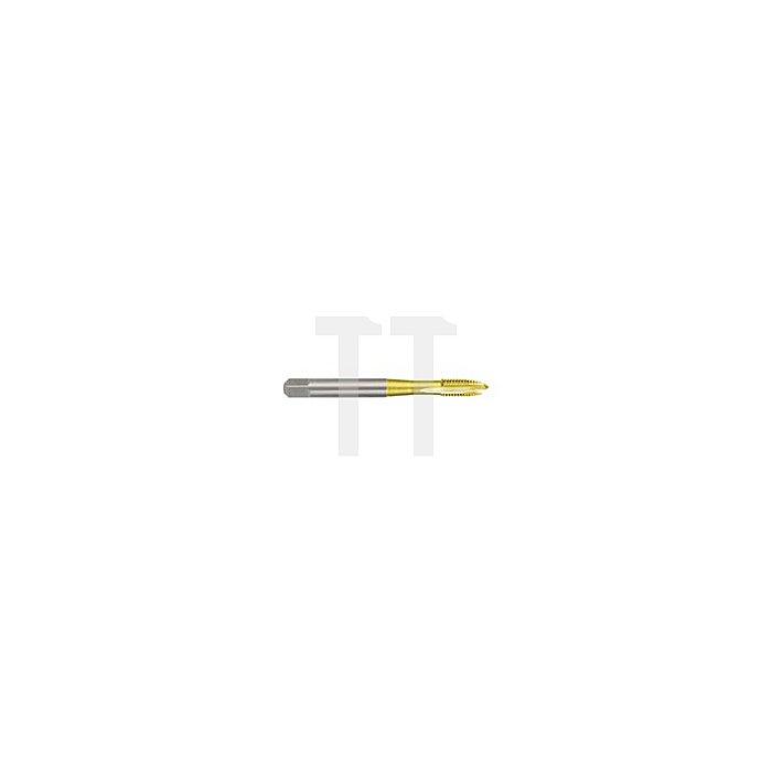 Maschinengewindebohrer M DIN 371 HSS-TiN, Form B, M 10