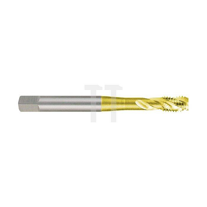Maschinengewindebohrer M DIN 371 HSS-TiN M 10, Form C / 35° RSP