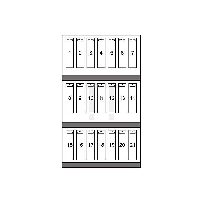 Maschinengewindebohrer-Modul M DIN 371 / 376 HSS + HSS Co 5 + HSS-TiN geschliffen, Form B in Quadro Pack