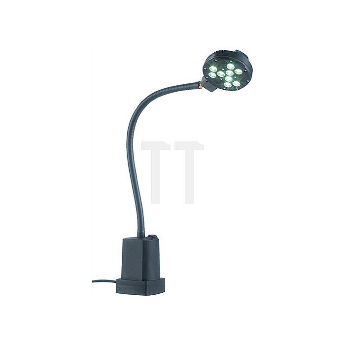 Maschinenleuchte 9x1W-LED-Leuchte 900lm 250V Anschlussleitung Tageslichtqualität