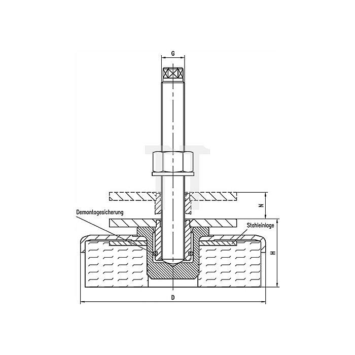 Maschinenschuh Gr.3