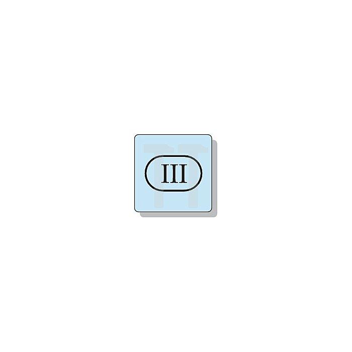 Maßstab weiss/gelb 3m Buchenholz 617/11