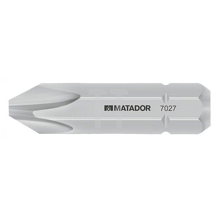 """Matador 8mm 5/16"""" Bits PH1 7027 1001"""