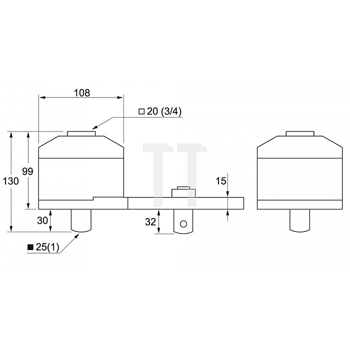 Matador Drehmoment-Vervielfältiger 3500 Nm 6182 0030