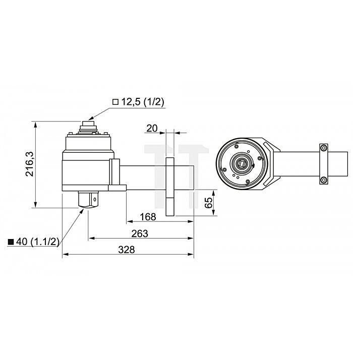 Matador Drehmoment-Vervielfältiger mechanisch 6000 Nm 6182 0050