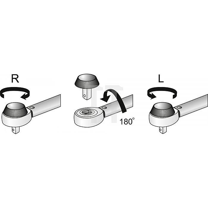 """Matador Drehmomentschlüssel ALLROUND 12,5mm 1/2"""" 60-320 Nm 6176 0040"""