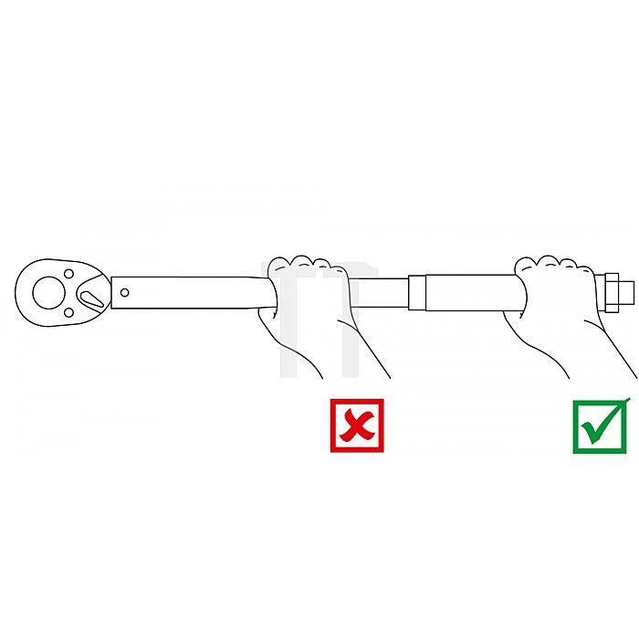 """Matador Drehmomentschlüssel ECO 12,5mm 1/2"""" 50-350 Nm 6172 0030"""