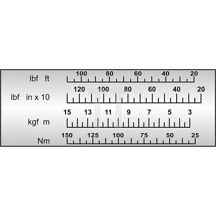 """Matador Drehmomentschlüssel MULTITOUCH 25mm 1"""" 500-2000Nm 6174 0080"""