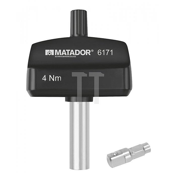 """Matador Drehmomentschraubendreher fix. 6,3mm 1/4"""" 4Nm 6171 0004"""