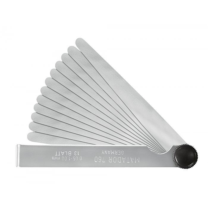 Matador Fühlerlehren 100mm Blatt 13x2-35/100mm 0760 0005