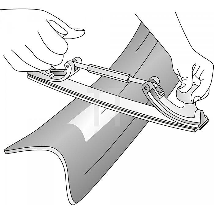 Matador Karosserie-Feilenhalter mit Feile 350mm 0740 0001