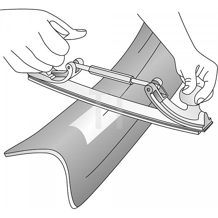 Matador Karosserie-Feilenhalter ohne Feile 350mm 0740 0002